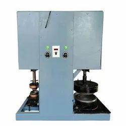 Single Die Semi Auto Dona Machine
