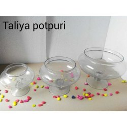 Taliya Potpuri Glass Vase