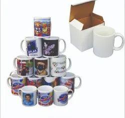 Plain Ceramic Coffee Mug, For Office Home