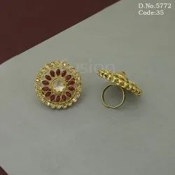 Reverse Ad Mehendi Polish Adjustable Finger Ring