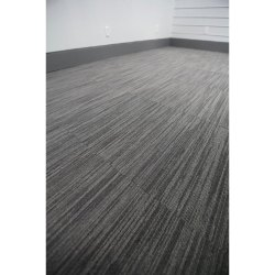 Black Plastic Carpet Tile, Thickness: 4 mm