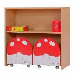 Toadstool Design Storage Shelf