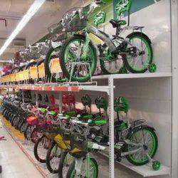 Cycle Display Rack