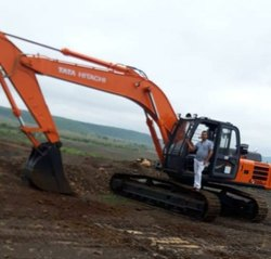 1 Month Poclain Excavator Rental Service, in Local
