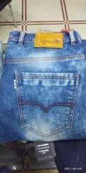 Denim Plain Men Cotton Jeans, Waist Size: 32