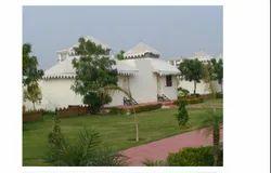 White Polyester Tent House, Size: 12 X 12 Feet