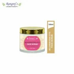 Rangrej''s Aromatherapy Bulgarian Rose Otto Glow Face Scrub For Radiant Glowing 100ml