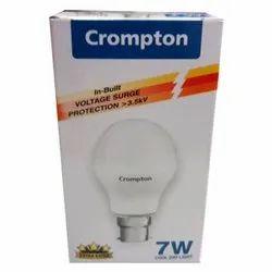 Ceramic Round 7W Crompton LED Bulb