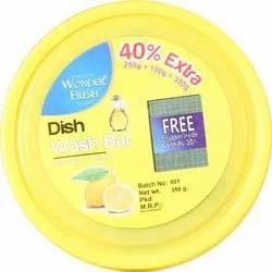 Wonder Fresh Dish Wash Bar (350gm), Packaging Size: Small, Packaging Type: Box