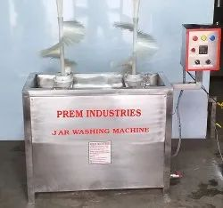 Jar Washing & Rinsing Machines