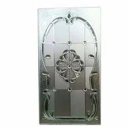 Hinged Designer Etched Door Glass