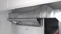 Ss Commercial Kitchen Exhaust Hood