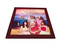Wooden Digital Photo Frame, For Gift, Size: 15*12 Inch