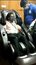 Massage chair Installation in Delhi Golf Club.