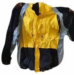 Full Sleeve Casual Wear Men Plain Collar Neck Jacket