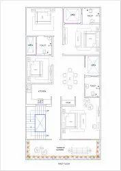 30x61 House Plan