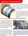 Tunnel Waterproofing Non Woven Geotextile