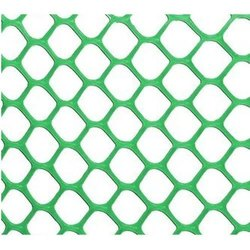 Stainless Steel Green PVC Coated Hexagonal Wire Mesh, For Agricultural