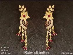 Flower AD Earrings