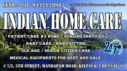 Care taker job vacancy in Chennai