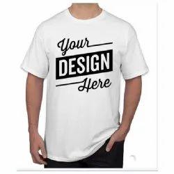 White Cotton T-Shirt Printing Services