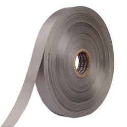 Double Satin NR - Grey Ribbons 25mm/1Inch 20mtr Length