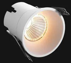 Round Cool White Orrin COB LED Downlight, IP33, 5 W