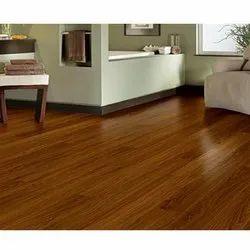 Brown Pvc Vinyl Flooring, Thickness: 8 Mm