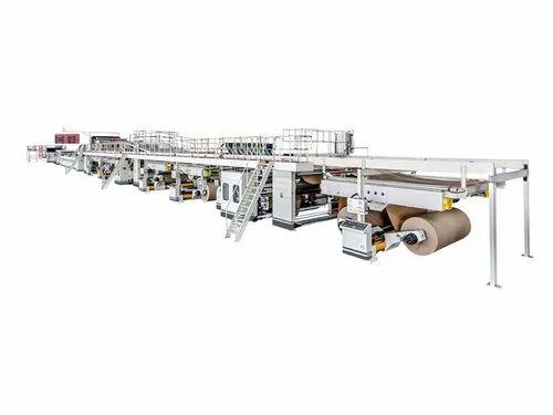 Automatic 5 Ply Corrugated Box Making Machinery