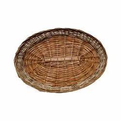 Cane Hamper Basket