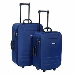 Blue Polyester LeeRooy Travel Trolley Bag, Size: 2420