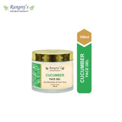 Rangrej''s Aromatherapy Cucumber Face Gel  For Skin Lighten/Brighten/Glowing/Moisturizing Skin
