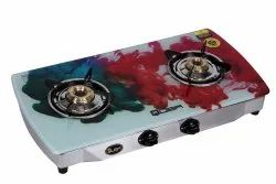 Stainless Steel Red Quba S2 Smoke 2 Burner Cooktop, For Kitchen