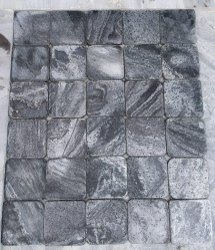 Silver Grey - Brushed   Tumbled Tiles