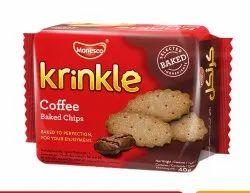 Krinkle Coffee Biscuits Pack of 12, Packaging Type: Box