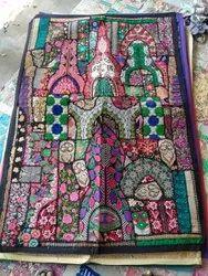 Multicolor Cotton Khambadiya Wall Hanging, For Home, Size: 40*60 Inch