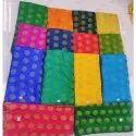 Dyeable Satin Jacquard Fabrics