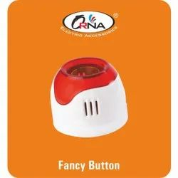 Orna Plastic Electric Fancy Button Holder, For Electrical Fitting