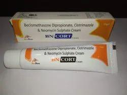 Beclomethasone Dipropionate, Clotrimazole & Neomycin Sulphate Cream