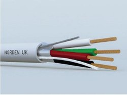 3.1 To 6.9 Norden Multi Conductor Cable, MOQ:1000Meter, No. of Units: 1 to 8 cores, Shielded