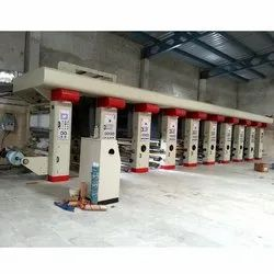 Automatic High Speed Rotogravure Printing Line