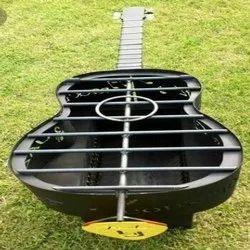 Mild Steel Gitar Shape Tandoor Oven, For Commercial