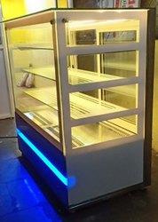Cold Display Counter -Straight Glass