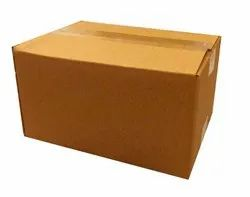 Rectangular 5 Ply Plain Corrugated Box, Weight Holding Capacity (Kg): >25 kg, Size(LXWXH)(Inches): 12x10x7 Inch
