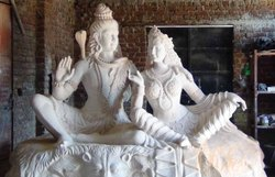 GRC Designer Shankar Parvati Statues