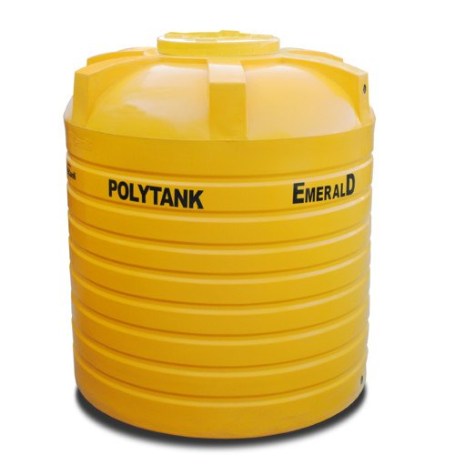 750L Polytank Emerald Yellow Water Tanks