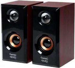 Black Quantum Qhm636 Speaker, 499 Grams, Usb Power
