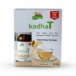 Dr. Patkar's Kadha Tea - Concentrated Immunity Booster Drops 30 ML, For Personal
