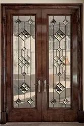 Stained Glass, For Doors, Thickness: 25 Mm