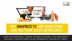 Snapbizz Turbo - POS Billing Machine For Supermarkets/Grocery/Retail Stores